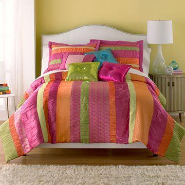 Seventeen® Boho Sorbet Comforter Set & Accessories - jcpenney