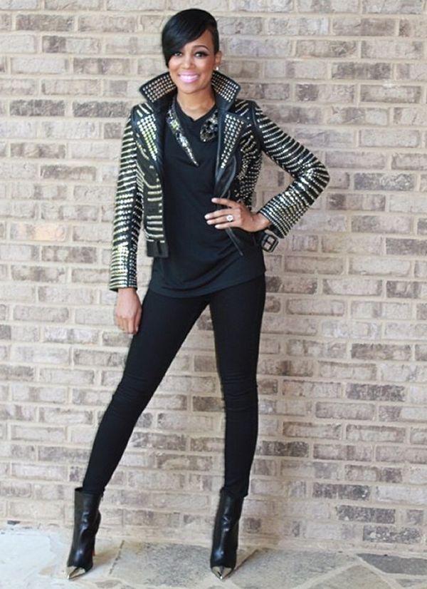 Monica Brown S Rocker Chic Always Bringing It