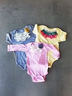 Cute- maybe one day :)Onesies Ideas, Embellishments Onesies Cindy, Diy Baby, Baby Boys Girls, Onesies Shirts, Onesies Cindy Smith, Baby Girls, Baby Clothing, Baby Stuff