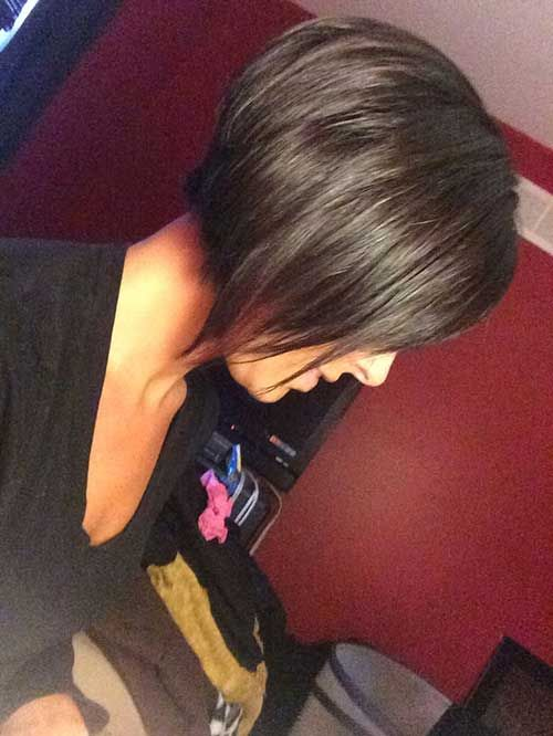 Brown Chin Lenght Bob Hairstyles