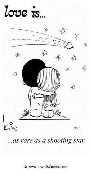 Love Is... as rare as a shooting star. #Love #SqdnLdr