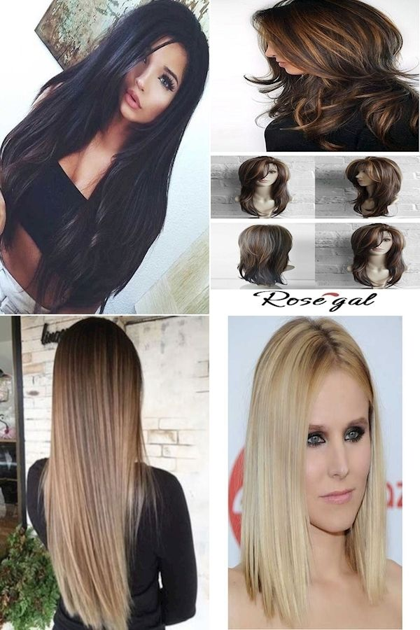 Hair Straightener Solution Simple Hairstyles For Straightened Hair Haircuts For Naturally Straight Hair In 2020 Straight Hairstyles Hair Styles Easy Hairstyles
