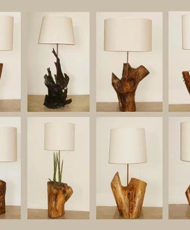 Por ejemplo, mira aquí lo que puedes hacer con un algunos troncos de madera. Foto: Bioguia