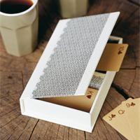 tutoriel de cartonnage pour faire une boite de jeu de cartes