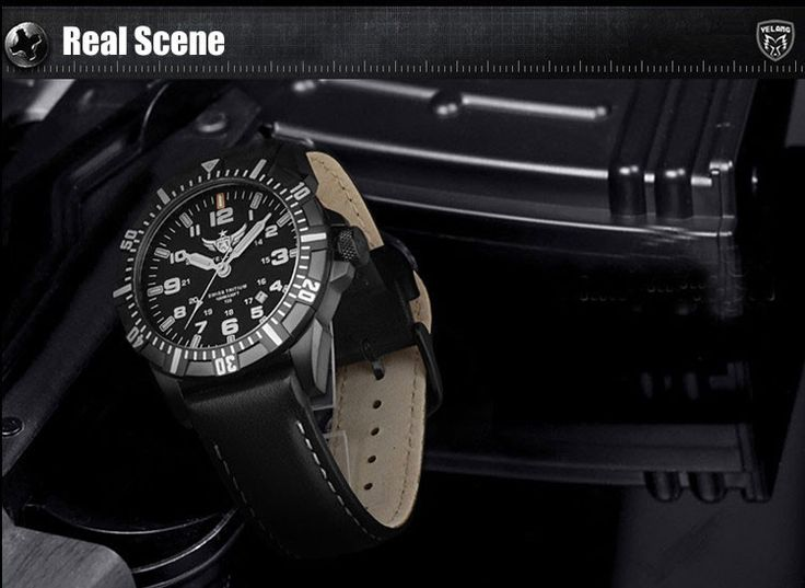 YELANG V1003 tritium luminous mens profession army military waterproof sports wristwatch diving watch - Fishing Equipments