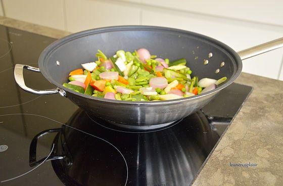 un plat de légumes frais à consommer sans modération. Trop bon !
