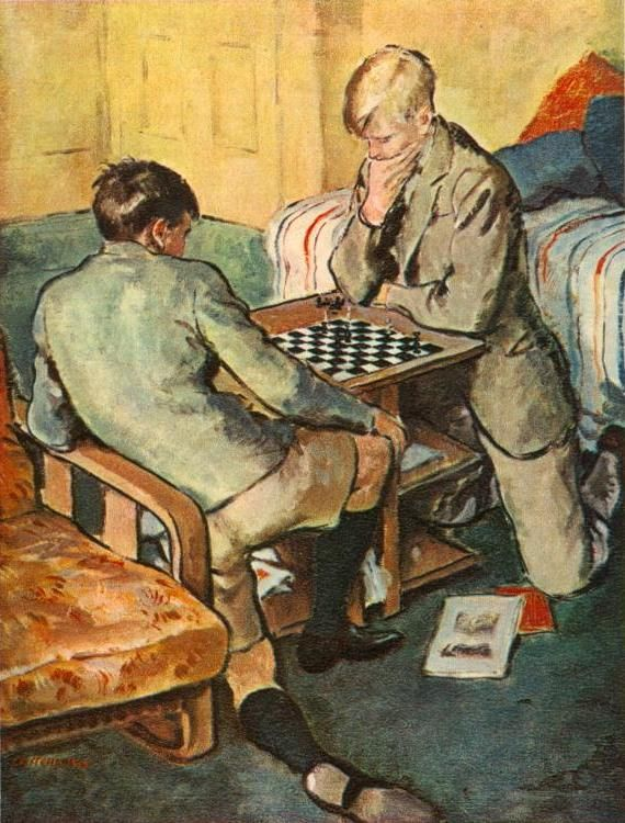 CRITCHLOW M.B. (?? – ) Checkmate. 1947