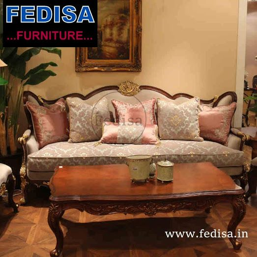 Sofas And Couches Shopping | Wood Modern Classic Sofa Set in ...