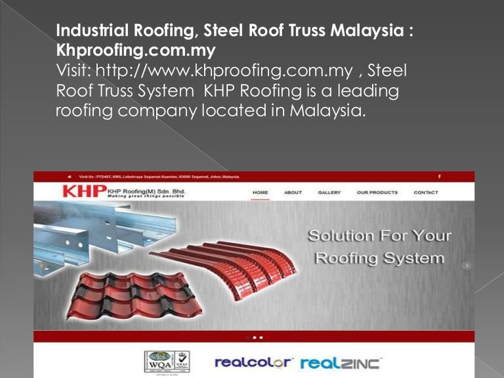 Visit: http://www.khproofing.com.my / Steel Roof Truss, Undoubtedly one of the best roofing contractors in Malaysia, KHP Roofing, hands down, offers superior services for Metal Deck Roofing in Malaysia.