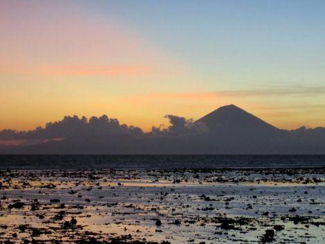 Mount Rinjani in Lombok.