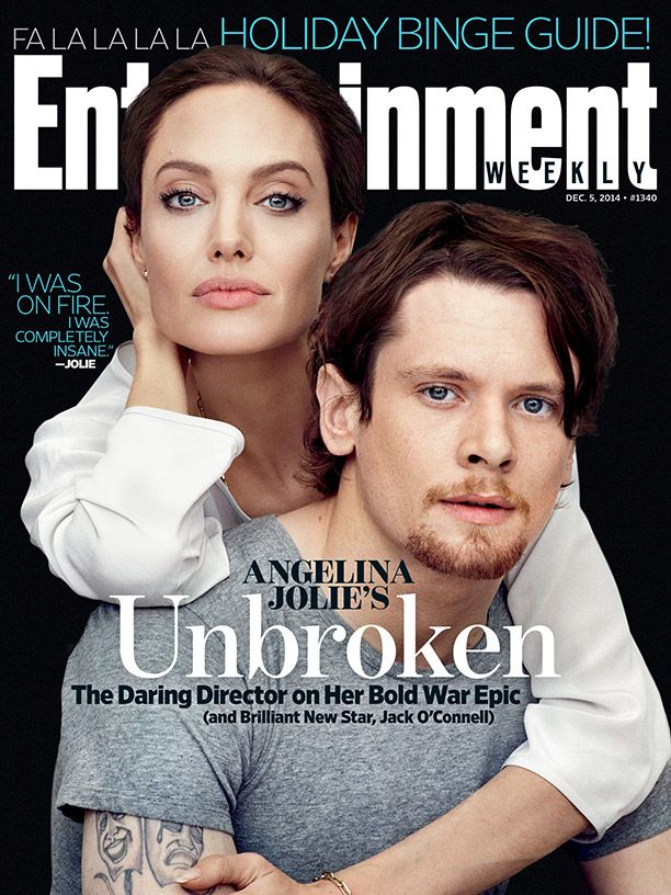 Angelina Jolie & Jack O'Connell Are Unbroken for Entertainment Weekly Cover