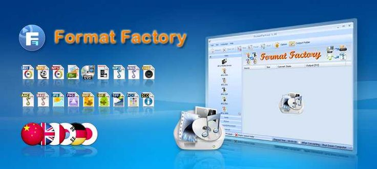 Format Factory - Free media file format converter