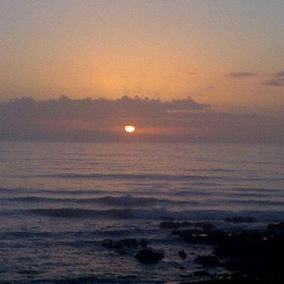 Sunrise at JBay