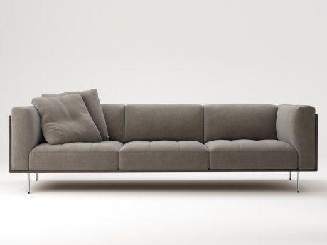 Living Divani Rod Sofa 240 3d model | Piero Lissoni