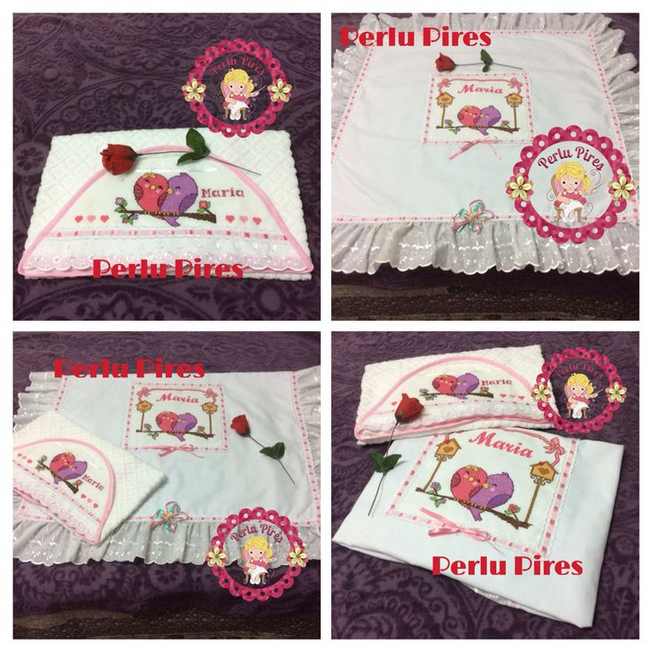 Toalha de capuz+Manta+kit de bebe