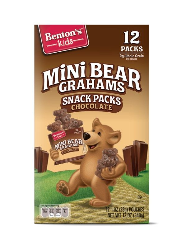 Benton S Mini Bear Graham Snack Packs Aldi Exclusive Benton S