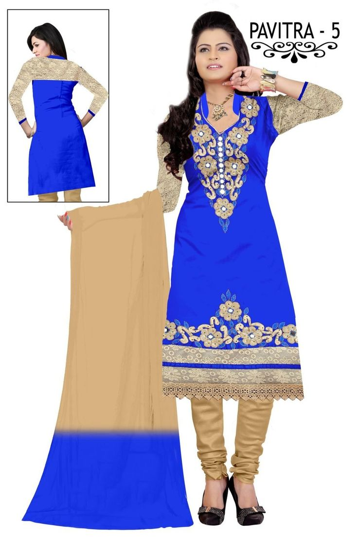 240 best images about dress material on Pinterest | Salwar suits ...
