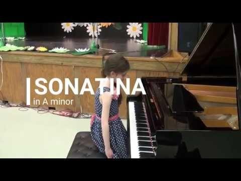 Sonatina in A minor by Grace Sofia Zemlyak