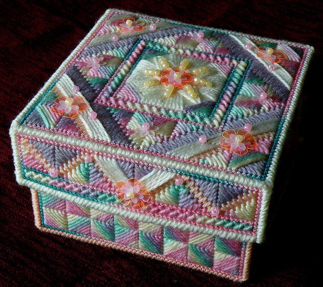 Sugar rush stitched box