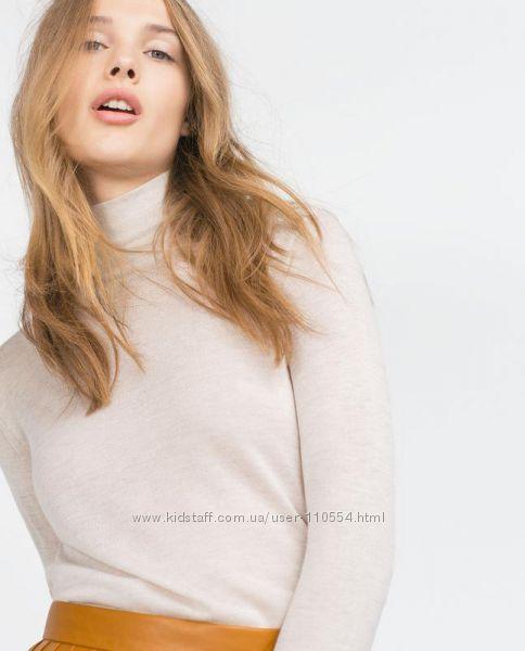 гольф Zara песочный в наличии размер М: фотографии