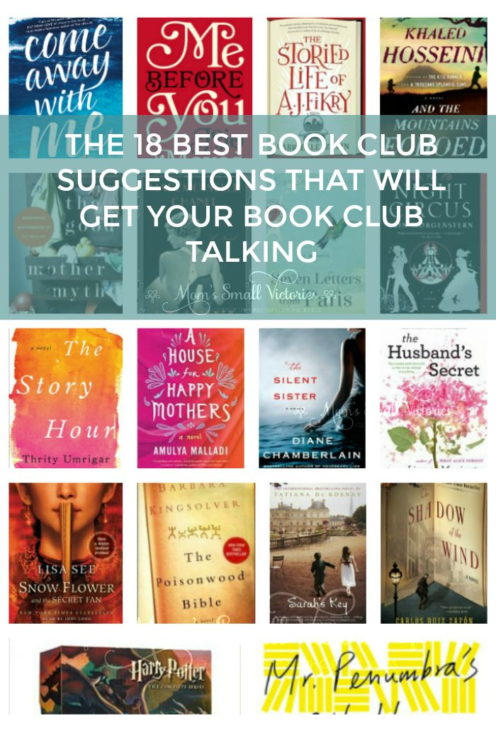 The 18 Best Book Club Suggestions to Get Your Book Club Talking…