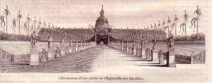 L'Empereur arrive en France - Esplanade des Invalides