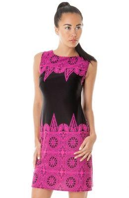 Neformálne šaty nad kolená Romanesque Twist Back Mini