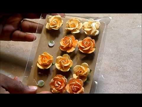 **5 FLOWER TUTORIALS** - PART 1 - YouTube