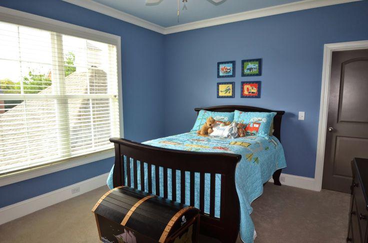 Paint Color Benjamin Moore 839 Old Blue Jeans In 2019 Blue Bedroom Boys Room Colors Boy