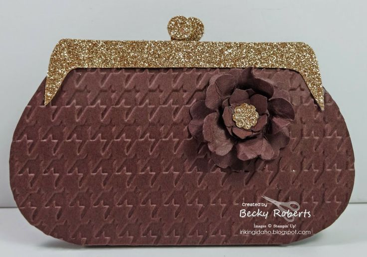 Purses, Lots of Paper Purses - This is an evening clutch ...