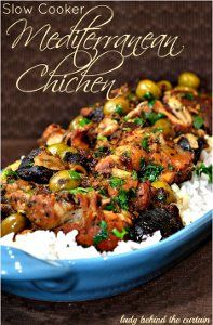 Ya Ya's Classic Chicken - This Mediterranean-style slow cooker chicken recipe is easy and elegant.