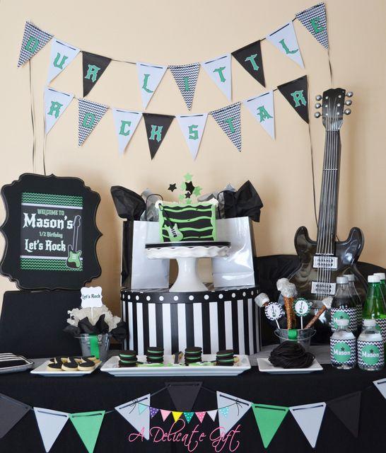 Rock'n Half Birthday with half the cake! #ADelicateGift