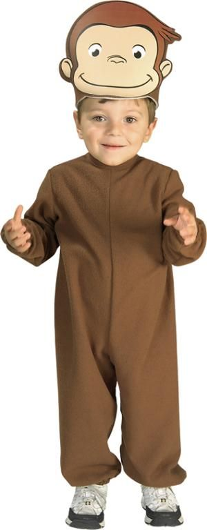 Curious George Costume for Alex and Louis.
