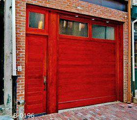 Custom modern red garage door. & 47 best Garage Doors - Modern images on Pinterest | Contemporary ...