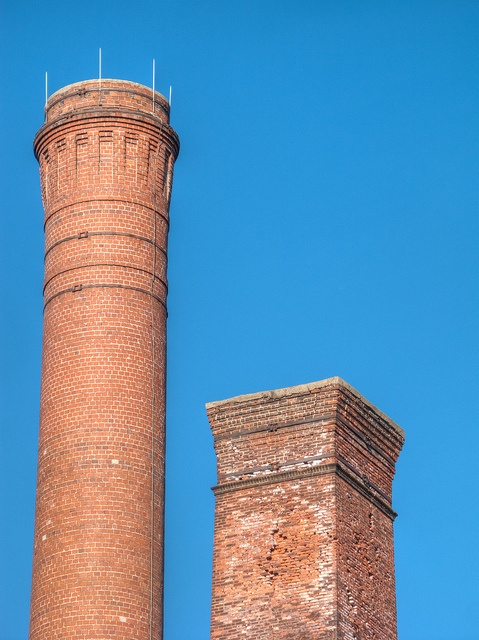how to take down a chimney stack