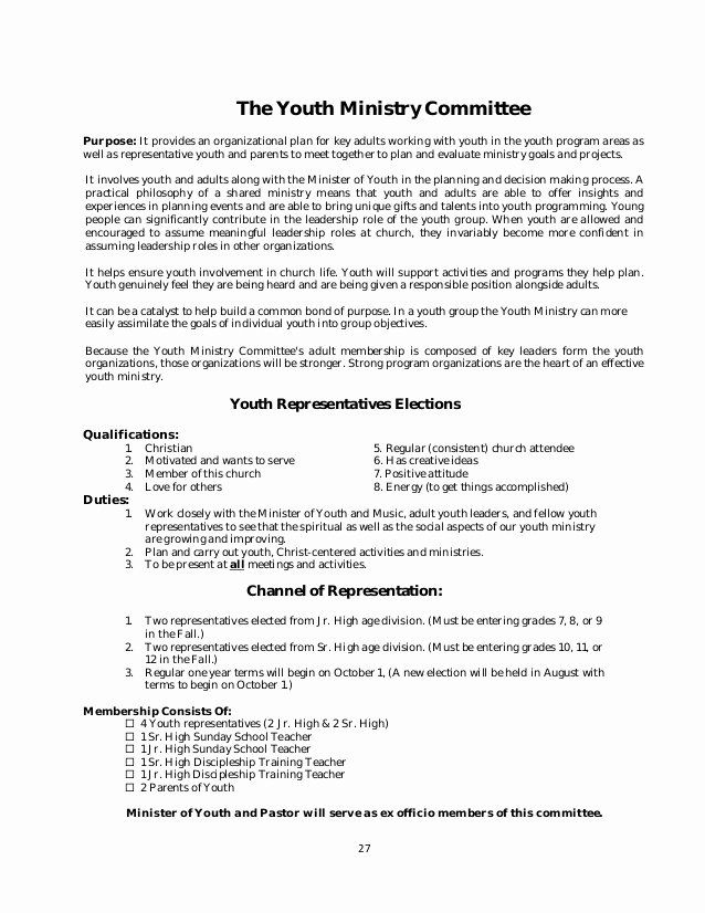 Youth Ministry Budget Template Unique Policy And Procedure Manual Church Sample Youth Ministry Budget Template Sample Resume