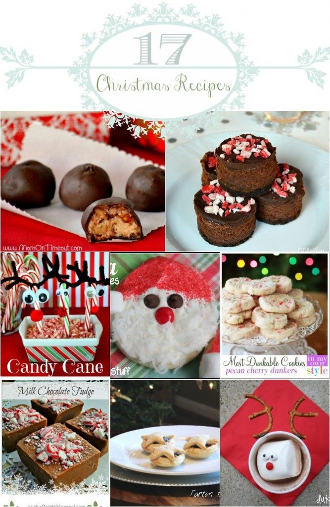 17 Christmas Recipes - Perfect for Cookie exchange