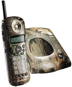 @Overstock - Add a new dimension to your home phone system with this Motorola 2.4GHz cordless phone. Sporting a camo finish, it features 10 dhttp://www.overstock.com/Electronics/Motorola-MA357-2.4GHz-Camo-Phone-with-Animal-Ringers/886184/product.html?CID=214117 $59.95