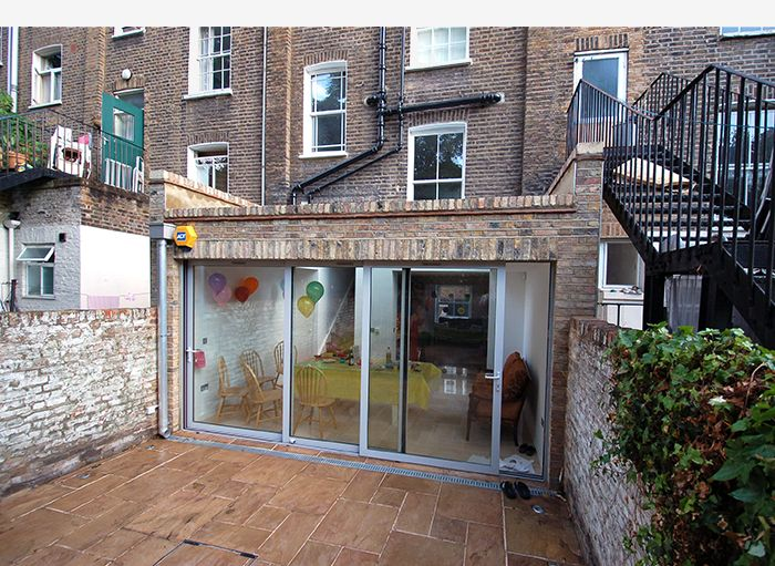 17 best images about residential islington on pinterest for Terrace kitchen extension