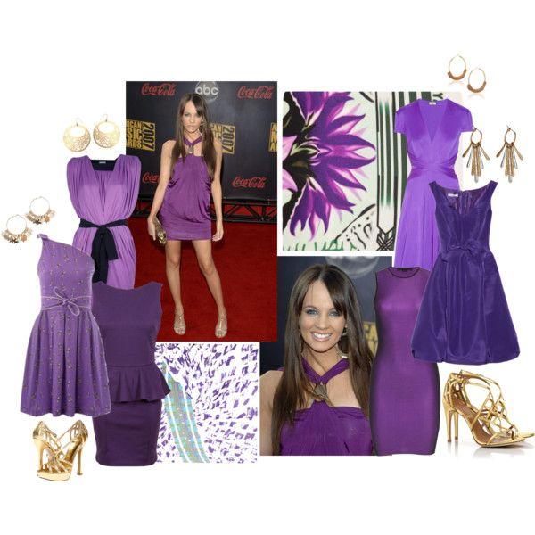 """Samatha Jade in Purple"" by aimee-lewis on Polyvore"