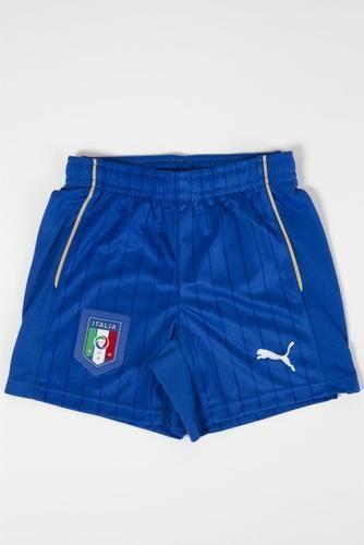 #Short away italia figc bambino 747403 01 Puma  ad Euro 38.00 in #Puma #Sport calcio bambino