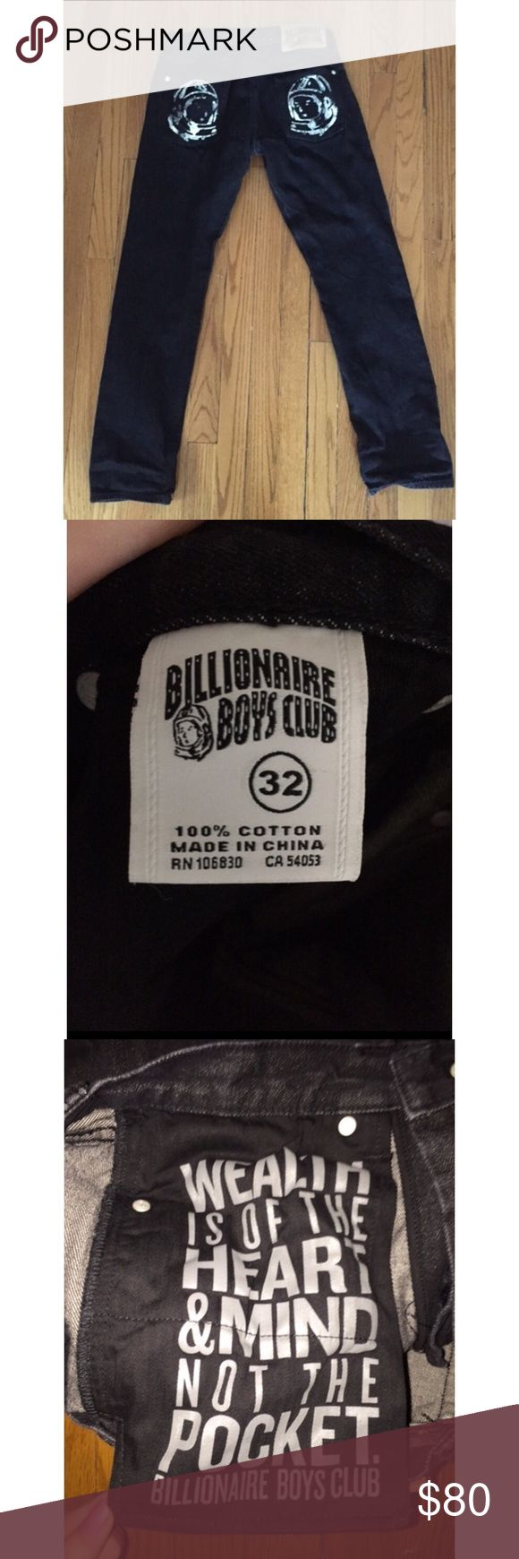 BILLIONAIRE BOYS CLUB JEANS never worn authentic BBC astronaut jeans! Comes with tag message me if you need more pictures :-) OG Price: $100 selling for $80 Billionaire Boys Club Jeans Bootcut