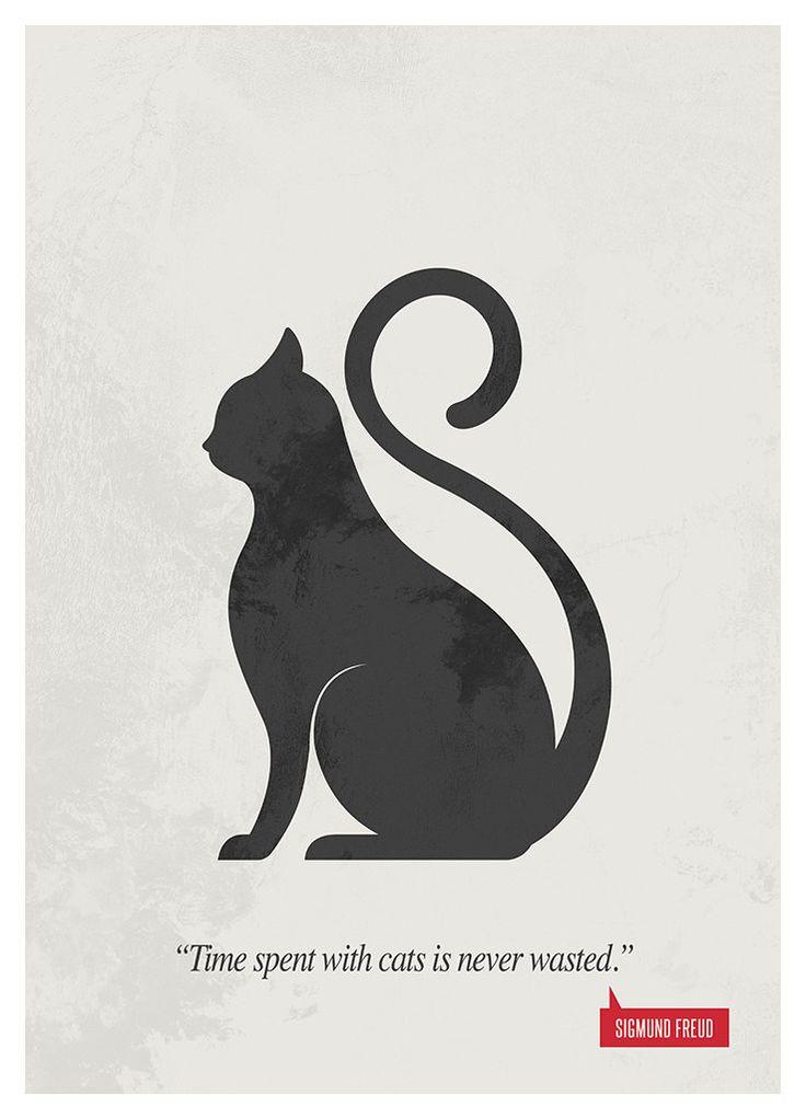 Poster Quote Sigmund Freud Art Print Minimalist by sevengraph