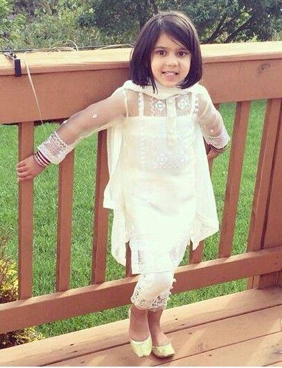 Pakistani outfit by Studio S kids.