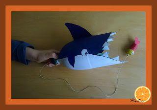 Pintas Laranja: Tubarão comilão