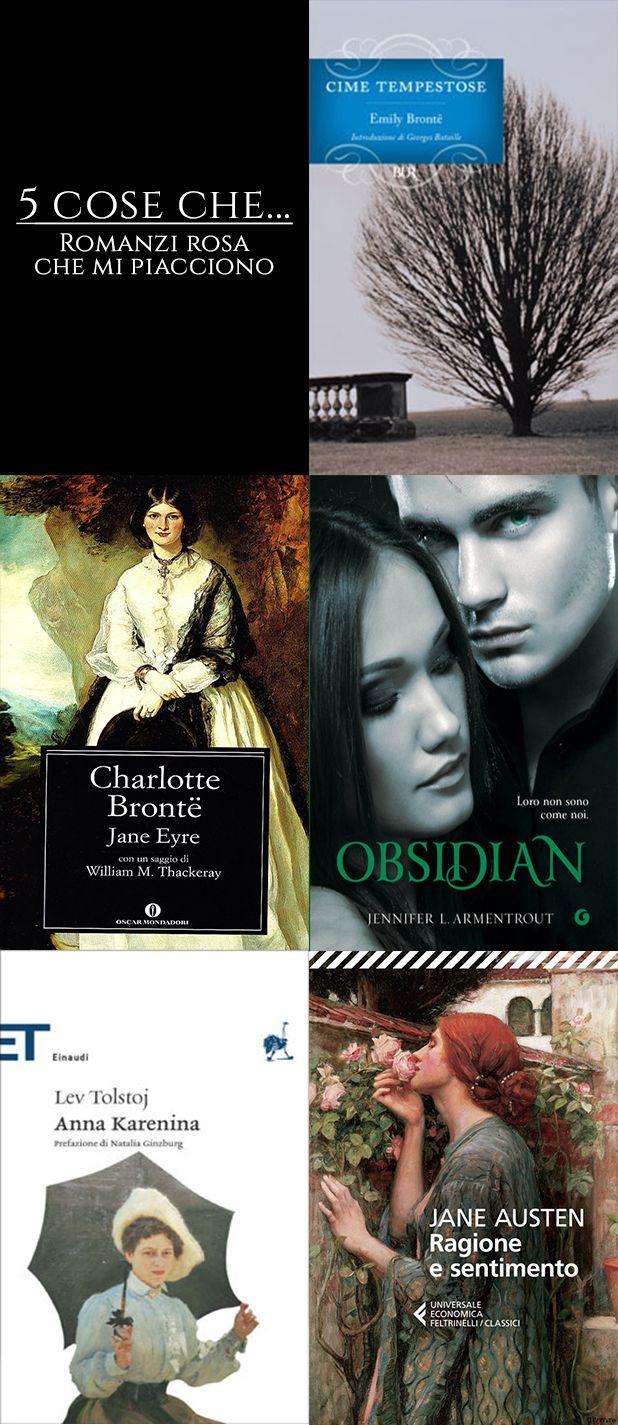 5 cose che... # 8 Seguici su: https://cantidellebalene.wordpress.com/2017/08/25/5-cose-che-8/ #5coseche #libri #books #romanzirosa #romance #cimetempestose #emilybronte #janeeyre #charlottebronte #obsidian #luxserie #jenniferlarmentrout #annakarenina #levtolstoj #ragioneesentimento #janeausten #romantico #classici #paranormalromance #cantidellebalene