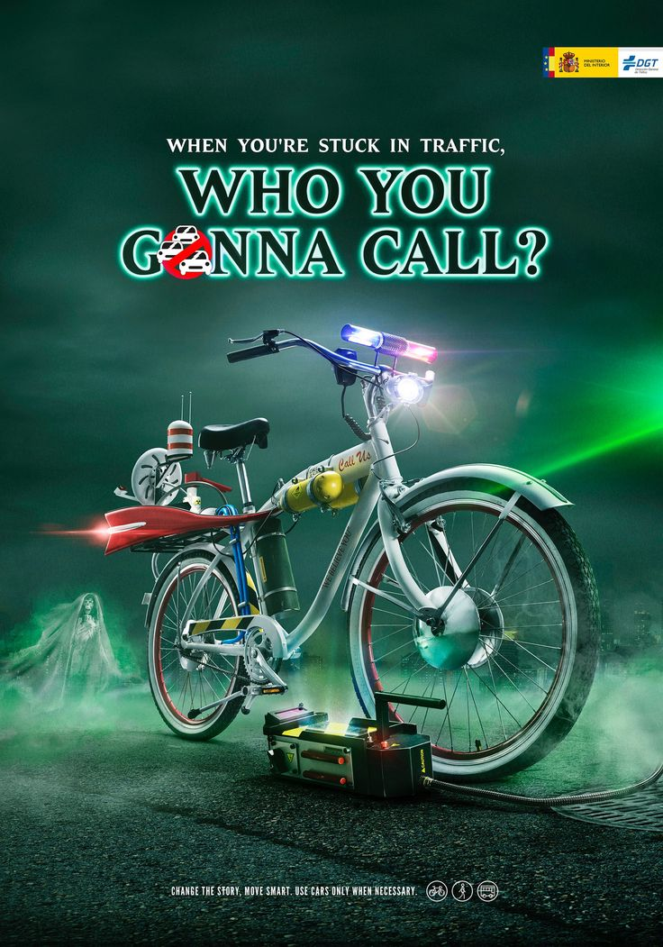 General Traffic Department of Spain: Who you gonna call? | Ads of the World™