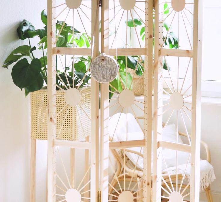 DIY IKEA Hack Raumteiler selber bauen – #Bauen #…