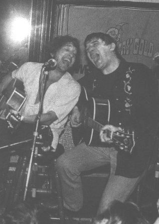 6- Rick Danko and Bob Dylan