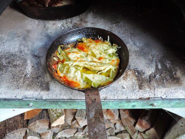 Woodoven cooking - baked Fennel - VanillaSaLt